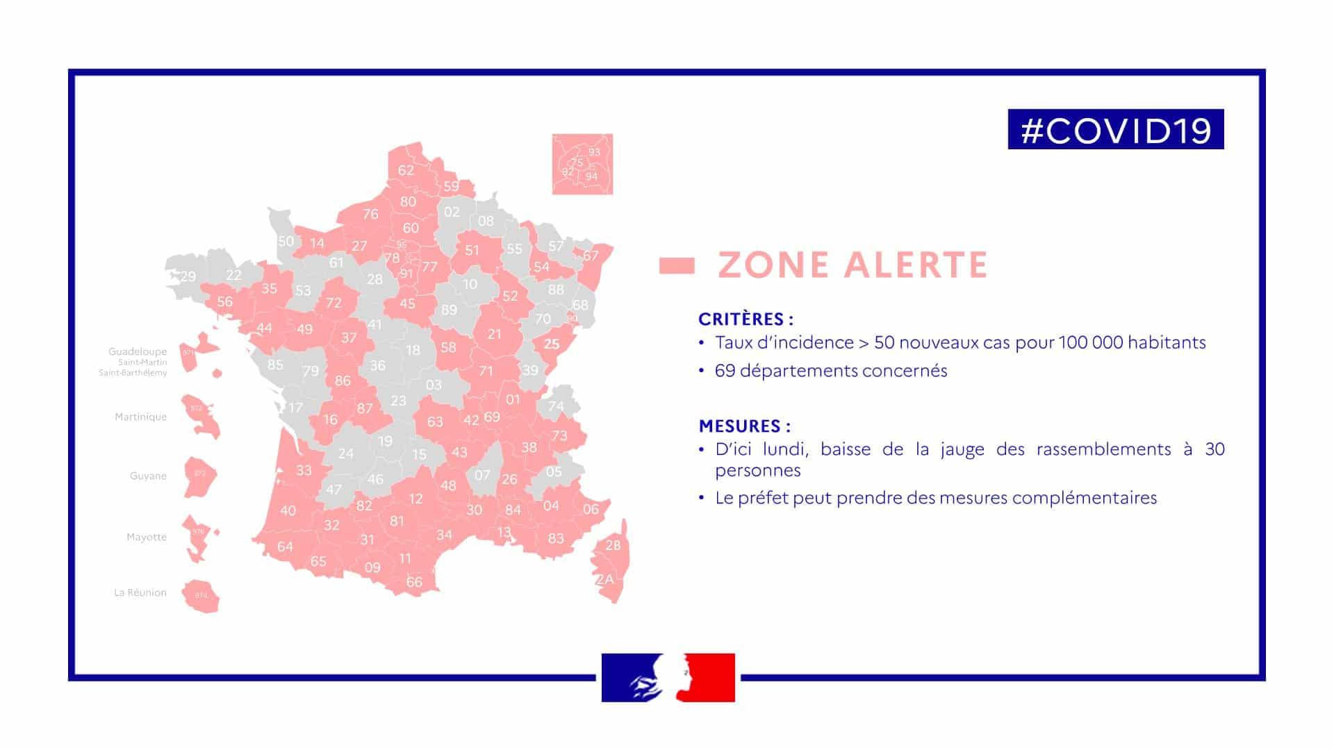 Passage en zone Alerte de l'Oise